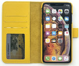 Magnetic Wallet Case Apple IPhone X / XS - Yellow_