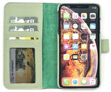 Magnetic Wallet Case Apple IPhone X / XS - Matcha Green_