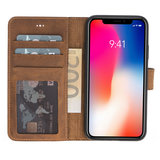 Wallet Case Apple IPhone X / Xs - Antic Brown_