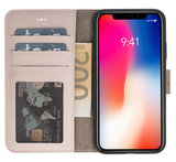 Magnetic Wallet Case Apple IPhone X / Xs - Nude _