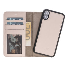 Magnetic Wallet Case Apple IPhone X / Xs - Nude