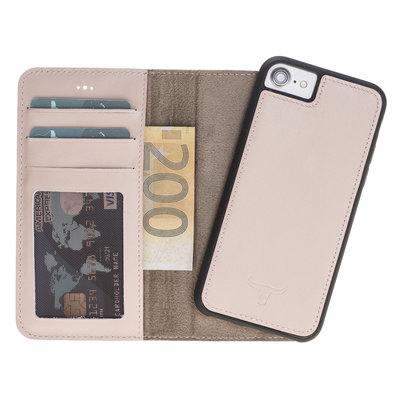 Magnetic Wallet Case Apple IPhone 7/8 - Nude