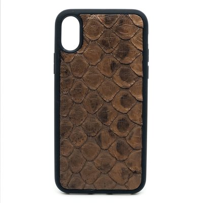 Apple IPhone x / Xs Dutchic Back Python cover - Braun