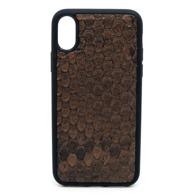 Apple IPhone x / Xs Dutchic Back Python - Braun