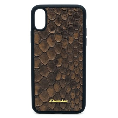 Apple IPhone x / Xs Dutchic Python - Braun
