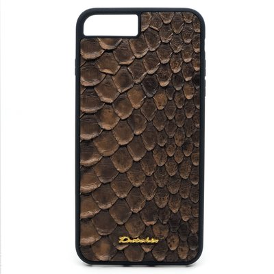 Apple IPhone 7 / 8 Plus Dutchic Back Python cover - Braun