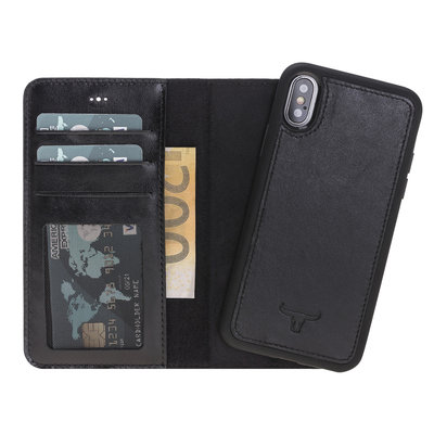 Magnetic Wallet Case Apple IPhone X / Xs - Black