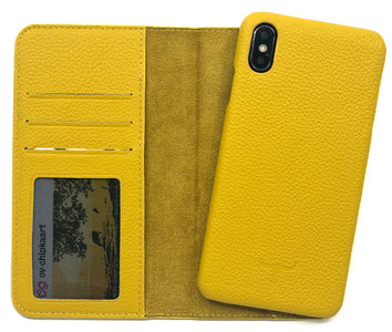 Magnetic Wallet Case Apple IPhone X / XS - Yellow
