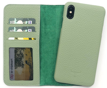 Magnetic Wallet Case Apple IPhone X / XS - Matcha Green