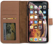 Magnetic Wallet Case Apple IPhone XS MAX - Brown