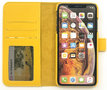 Magnetic Wallet Case Apple IPhone 11 - Yellow