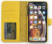 Magnetic Wallet Case Apple IPhone XS MAX - Yellow