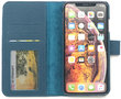 Magnetic Wallet Case Apple IPhone X / XS - Blue